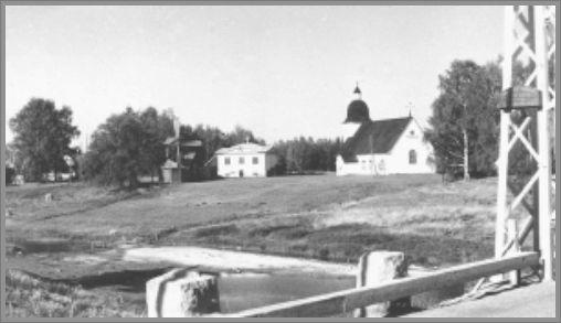Ilmajoen museoranta 1950-luvulla.
