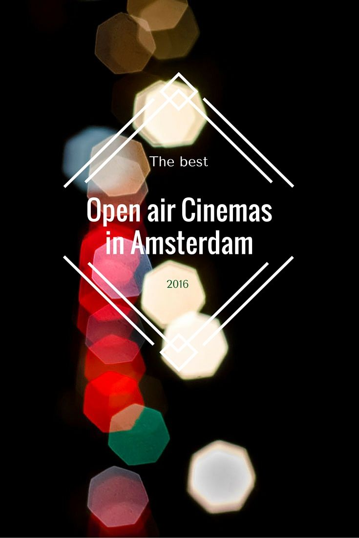 Summer has started! Amsterdam is a great city for open air cinema and movie festival lovers. These are Amsterdam's best places for your outdoor movie night!
