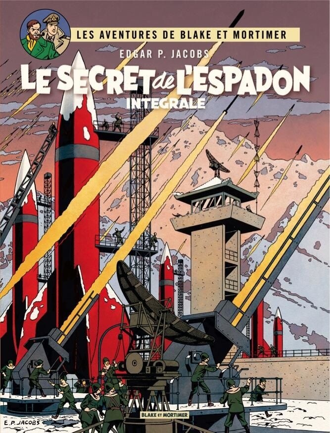 New Cover Project For The Secret Of The Swordfish S Integral Edition The Adventures Of Blake And Mortimer Planet Comics Pop Art Comic Comics