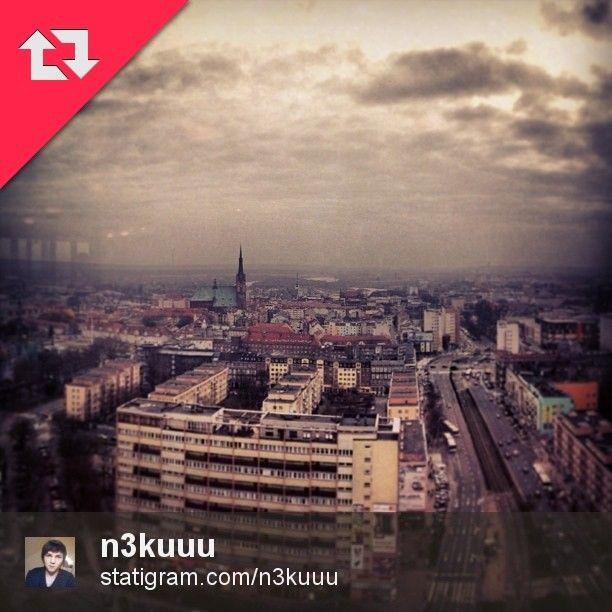 Panorama Szczecina autorstwa @n3kuuu .Zapraszamy do odwiedzenia jego profilu, a my przypominamy o oznaczeniu Waszych zdjęć tagiem #igers_szczecin.