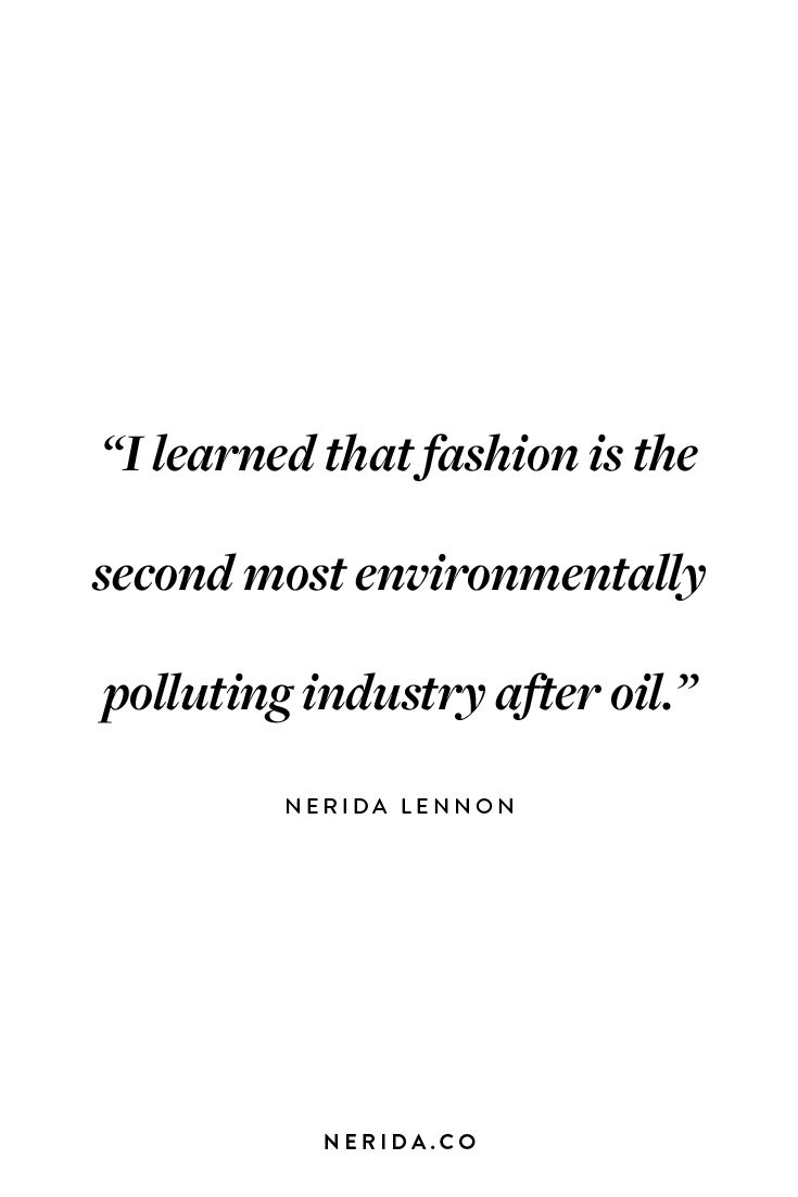 @NERIDAco talks with @cmagazine about how she left her 13 year career as a fashion model to advocate for ethical style. #ethicalfashion #consciousculture #neridaco