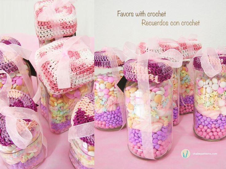 Favors with crochet, gifting ideas/ Recuerdos con ganchillo, ideas para regalos