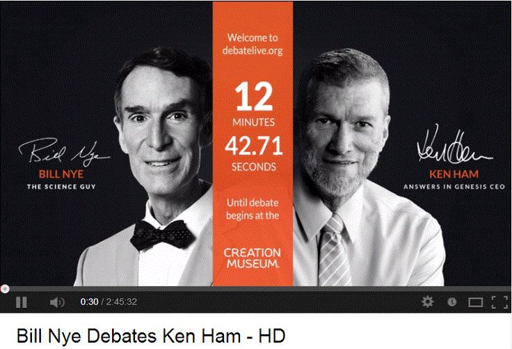 "Bill Nye Debates Ken Ham - HD.   > Einstein on the Abrahamic idolatries: The worship of false gods such as Yahweh is not only ""unworthy but also fatal"", with ""incalculable harm to human progress."" http://www.pinterest.com/pin/80150068342475341/  >   The Criminal Arrogance of Idolatry: Karl Barth,the most important theologian since Thomas Aquinas, pointed to the criminal arrogance of religion. Which religion is the most criminally arrogant?  http://www.pinterest.com/pin/80150068342587694/"