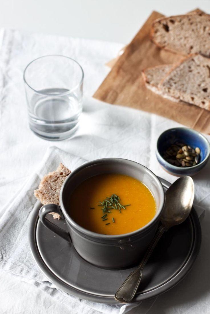 Hokaido Pumpkin and Ginger Soup