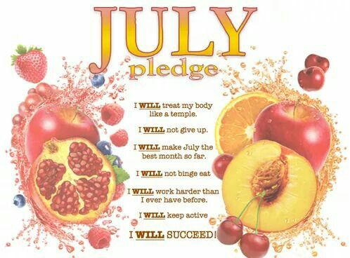 July's Health Pledge - are you ready for it?  ;) #paleochoice