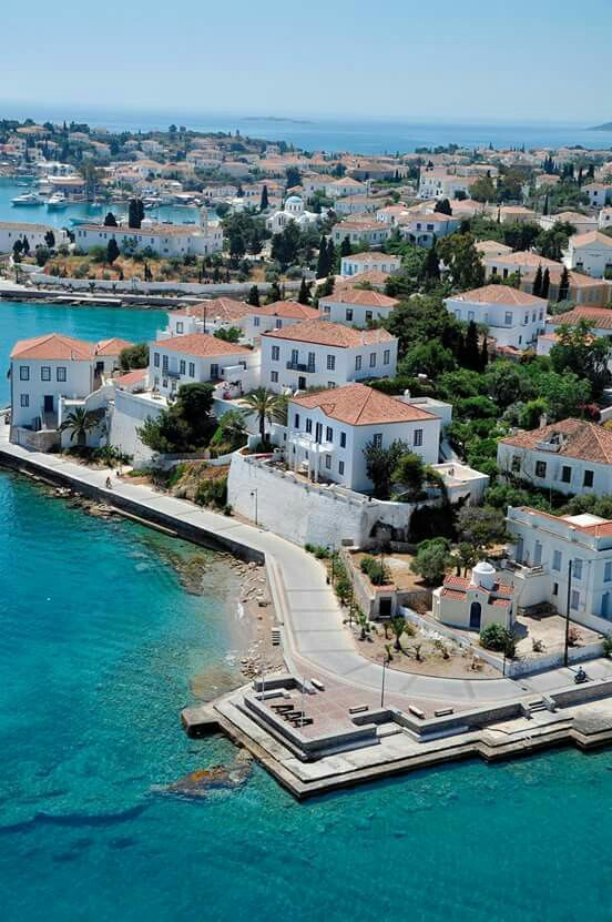 Spetses island, Greece. - Selected by www.oiamansion.com in Santorini.