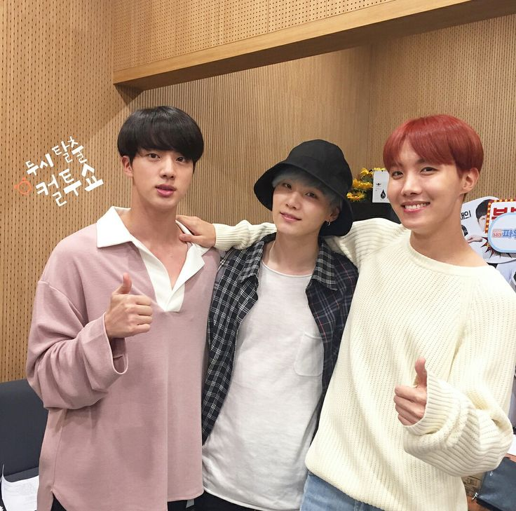 Jin, Suga and J-Hope ❤ BTS On The SBS Power FM Cultwo Radio Show~ (170921 - cultwoshow IG Post) #BTS #방탄소년단