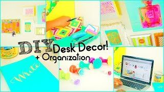 Perfect Kiwi39s DIY School Supplies  Desk Decor  YouTube