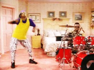 "Every Dance On ""The Fresh Prince Of Bel Air"" <<< --- i just had to"