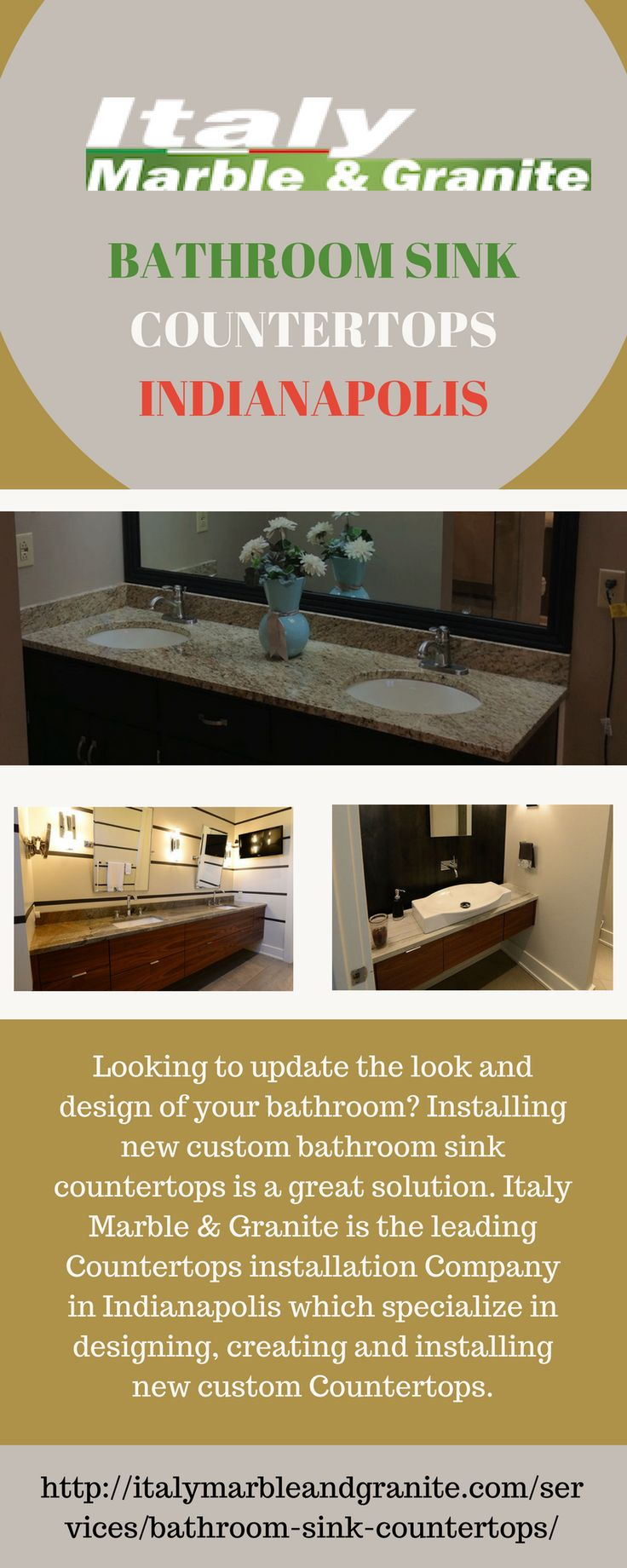 Looking For A Comfort And Ease To Use Bathroom? Change The Look And Feel Of  · Bathroom SinksBathroomsBar TopsGranite ...