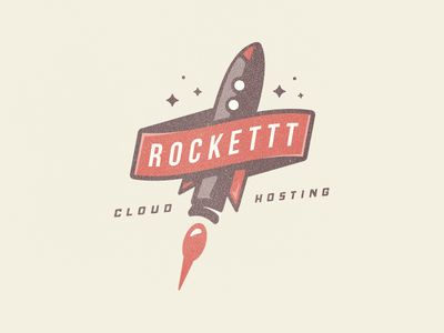 Rockettt Cloud Hosting Logo
