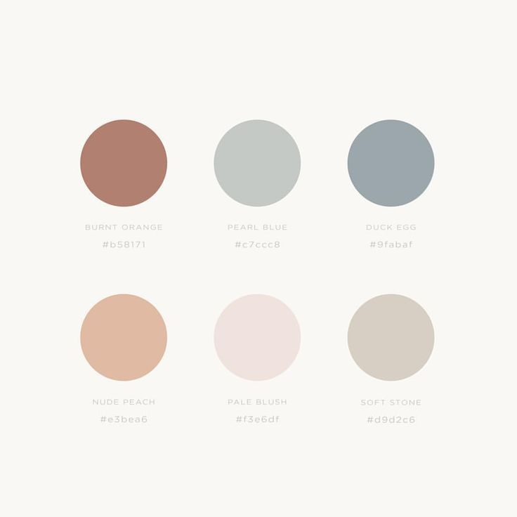 color palette, light tones, pastel colors, color inspiration