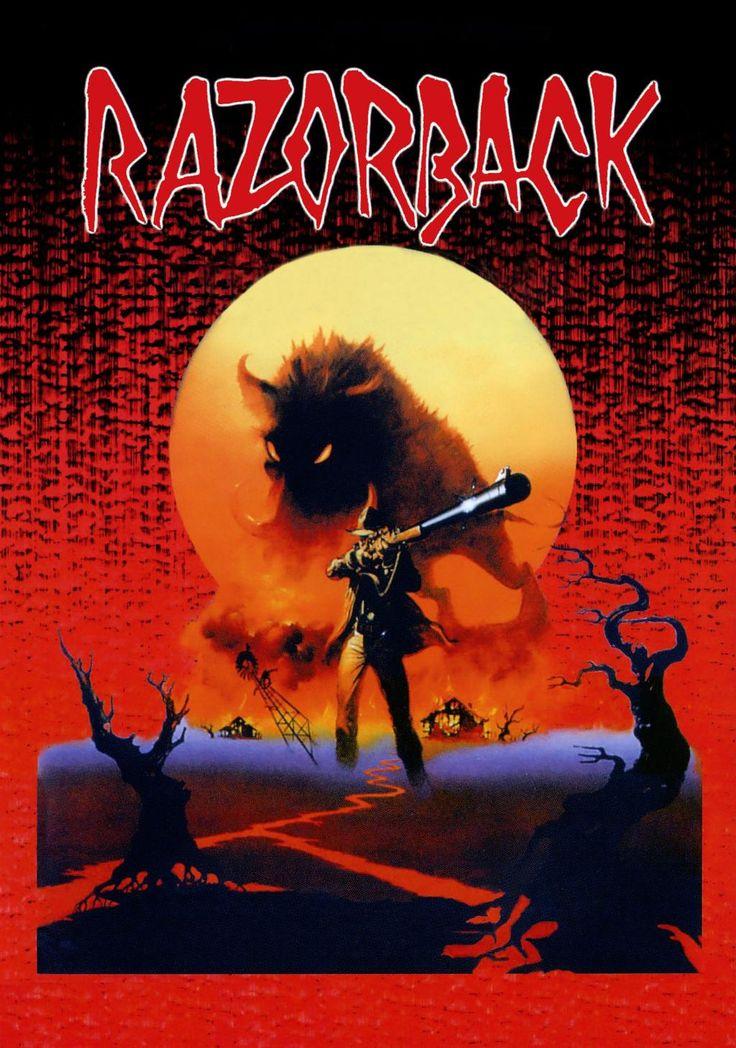 Razorback (1984) - poster
