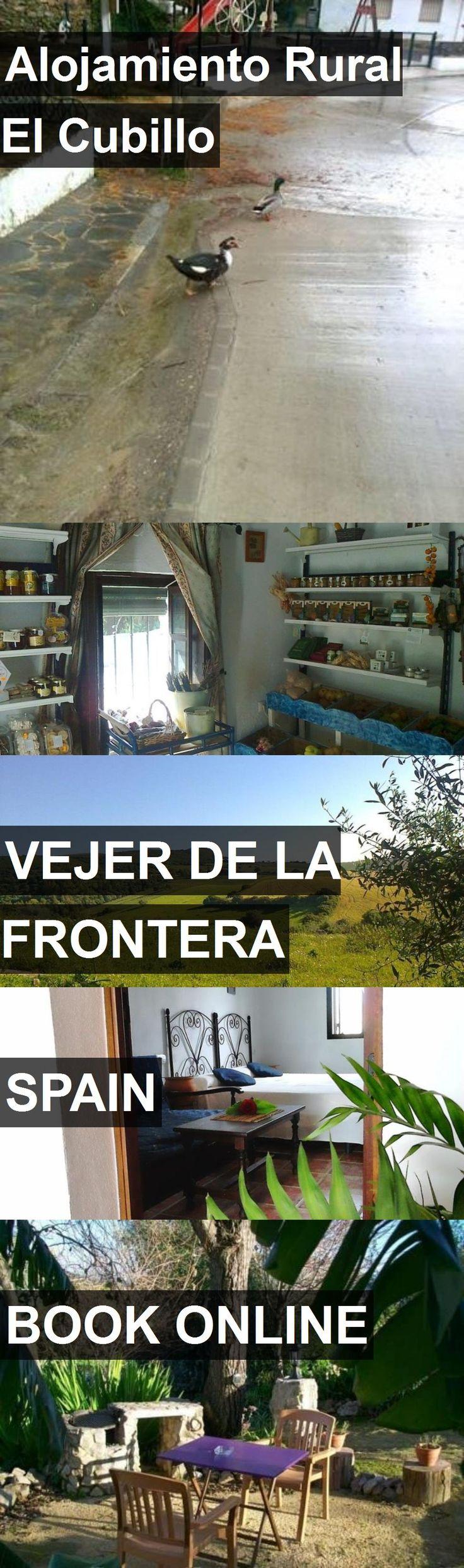 Hotel Alojamiento Rural El Cubillo in Vejer de la Frontera, Spain. For more information, photos, reviews and best prices please follow the link. #Spain #VejerdelaFrontera #AlojamientoRuralElCubillo #hotel #travel #vacation
