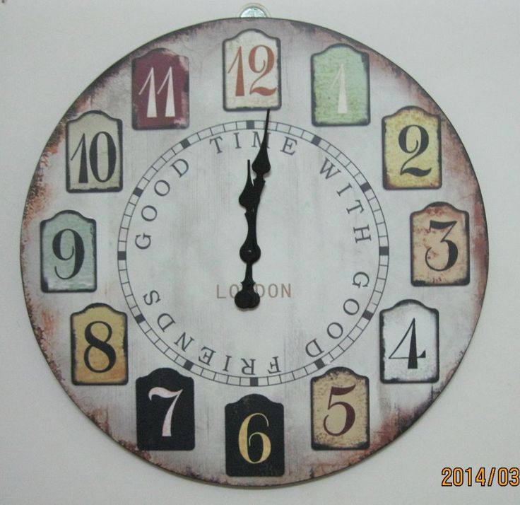 Art wall clock quieten fashion watches and