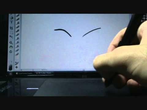 Wacom Bamboo Pen (explicando como funciona) - YouTube