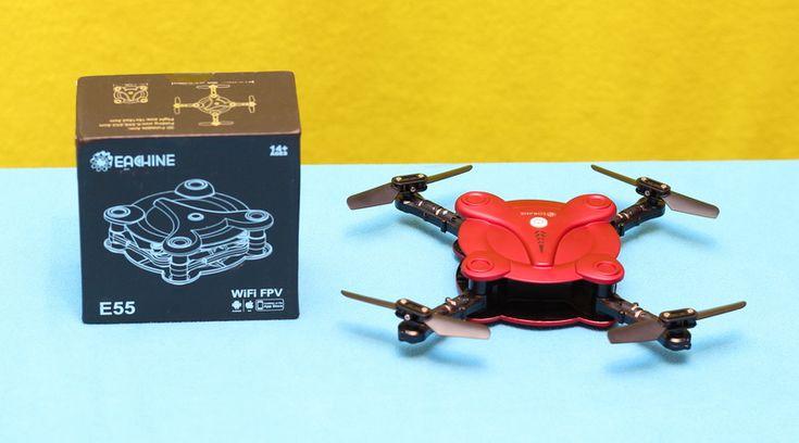 Eachine E55 Mini - Cheap sElfie drone with WifI FPV