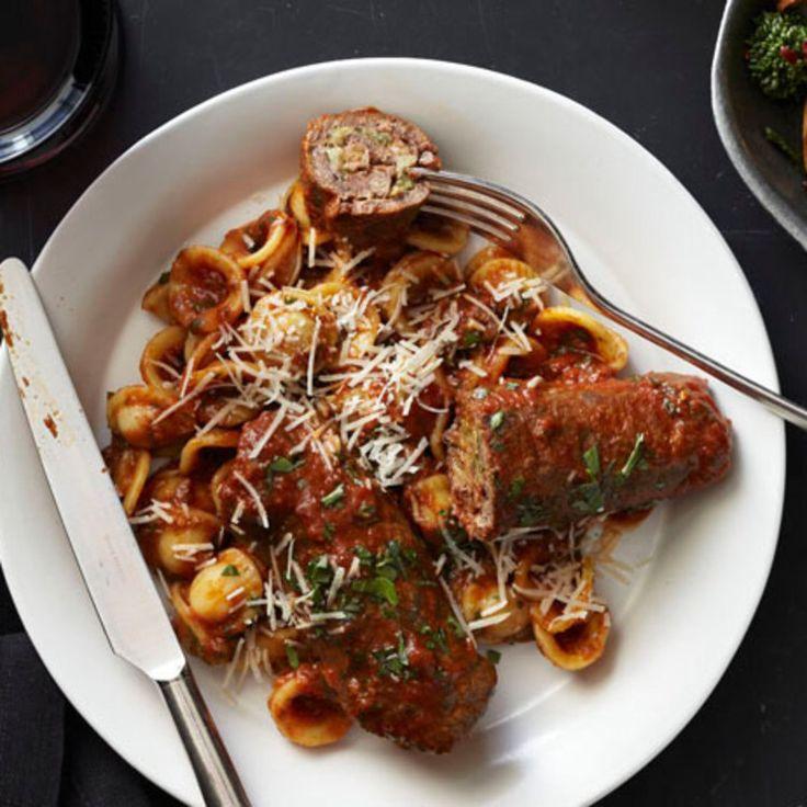 48 mejores imgenes de food comfort en pinterest alimentos de braciole with orecchiette forumfinder Gallery