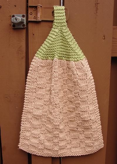 Welcome Home Kitchen Set - Free Knitting Pattern for Kitchen Towels and Dishcloths