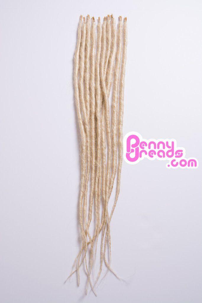 #613 Blonde U-Tip Synthetic Dreadlocks (10 pieces) Pre-Order