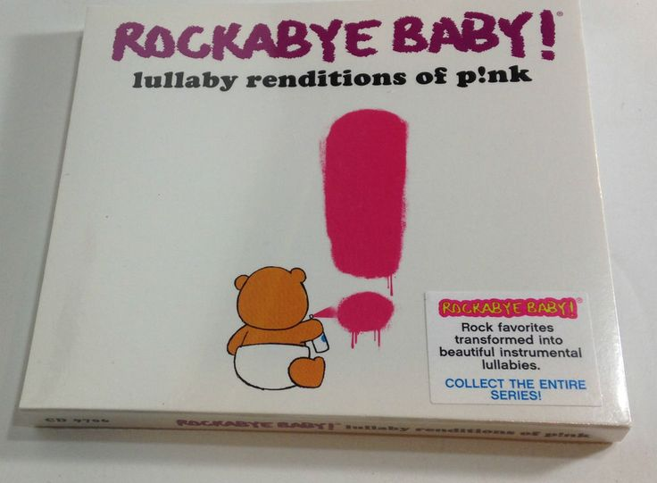 Rockabye Baby! Lullaby Renditions of P!nk PINK CD New Factory Sealed Free ship #TributeAlbums