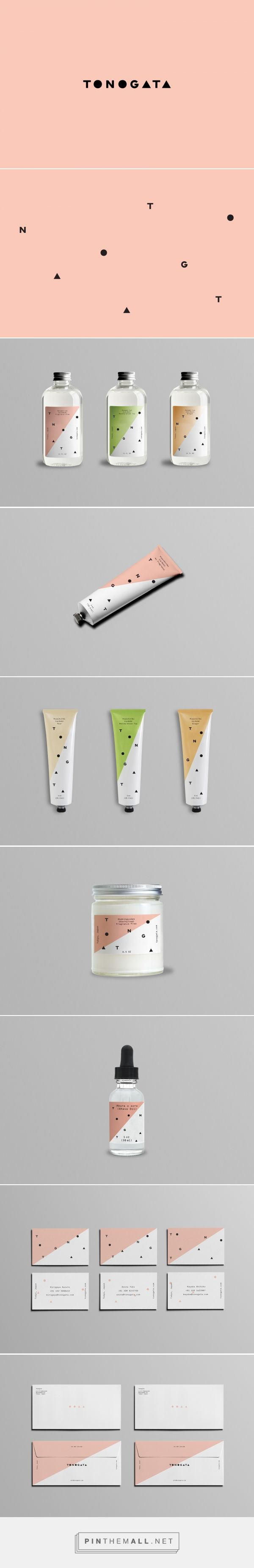jake trahan — Tonogata packaging curated by Packaging Diva PD. Japanese grooming line offering a simple solution to the small world of men's care products. Love the design but perhaps a tad more feminine than masculine.                                                                                                                                                     More