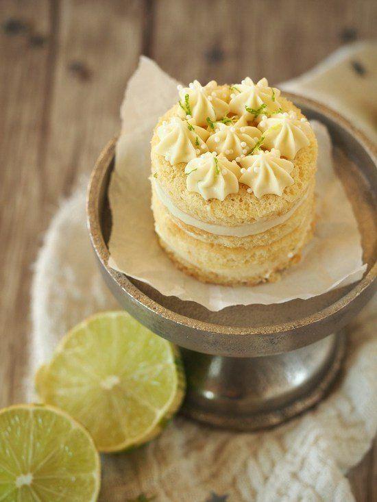 Champagner-Trüffel-Törtchen mit Limette