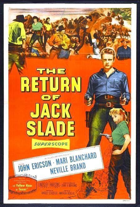 The Return Of Jack Slade (1955) - Neville Brand DVD
