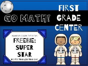 First of the Month Freebie for April 2017! This place value game is a sample from my Go Math! Chapter 7 Bundle. This game was specifically created to support Chapter 7 of the first grade Go Math! curriculum, but it can be used by anyone to reinforce place value skills!
