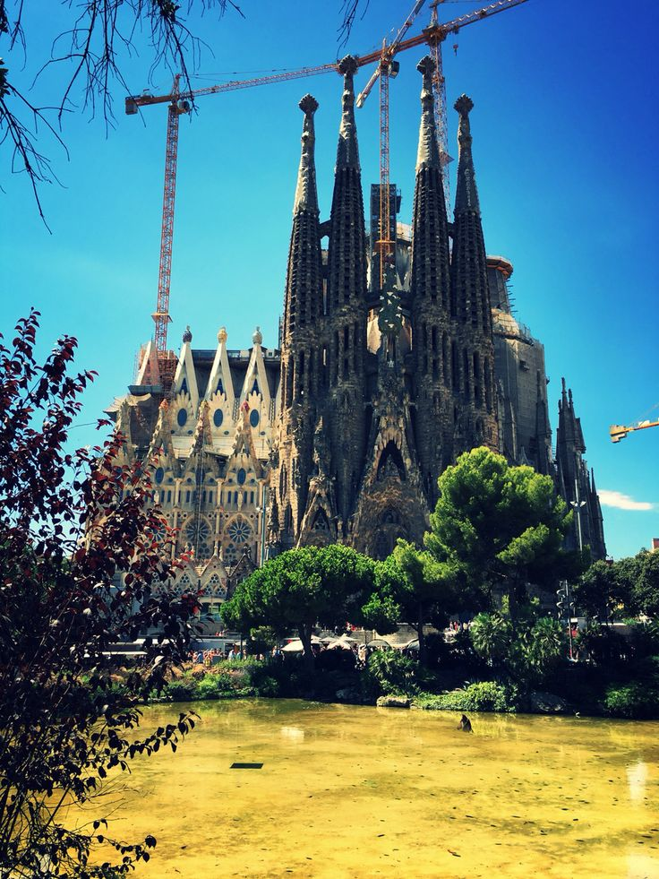 La Sagrada Famillia , Barcelona , Spain