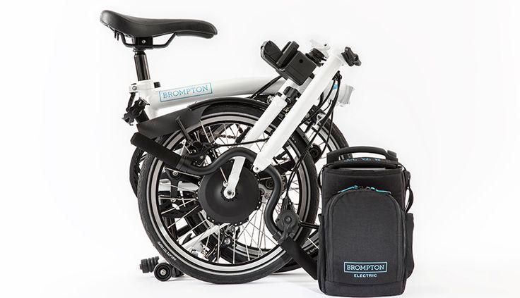 Découvrez le Brompton électrique ! Un partenariat de choc avec la société Williams Advanced Engineering pour un vélo pliant électrique performant et léger