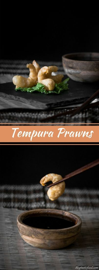 Crispy, light delicious batter. Tempura prawns are the best!! Served with the most amazing sweet and sour soy dipping sauce. Works great as an appetizer.