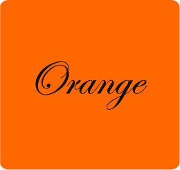 """""""Orange is the happiest color"""" - Frank Sinatra (perhaps that it why orange is my favorite color)"""