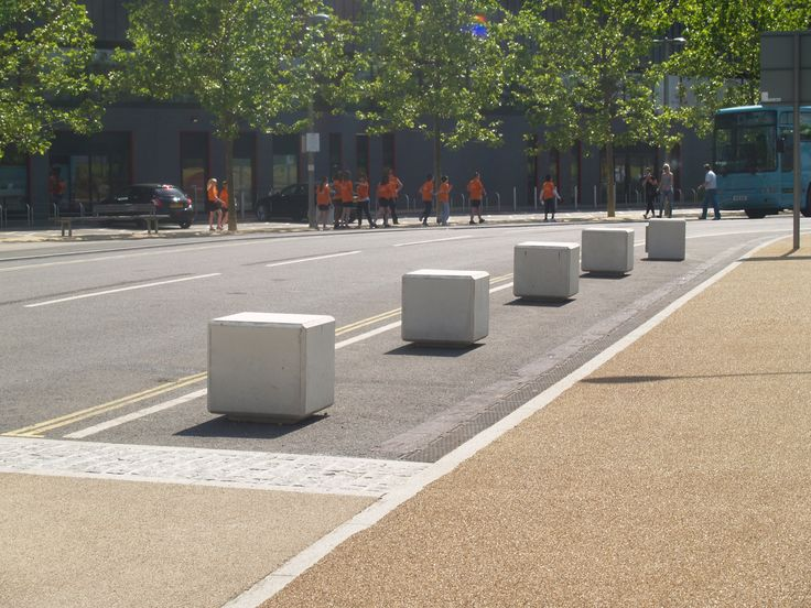 London, Olympic Park Betonijakkarat