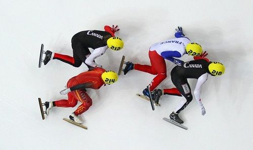 cool overhead picture of short trackers.