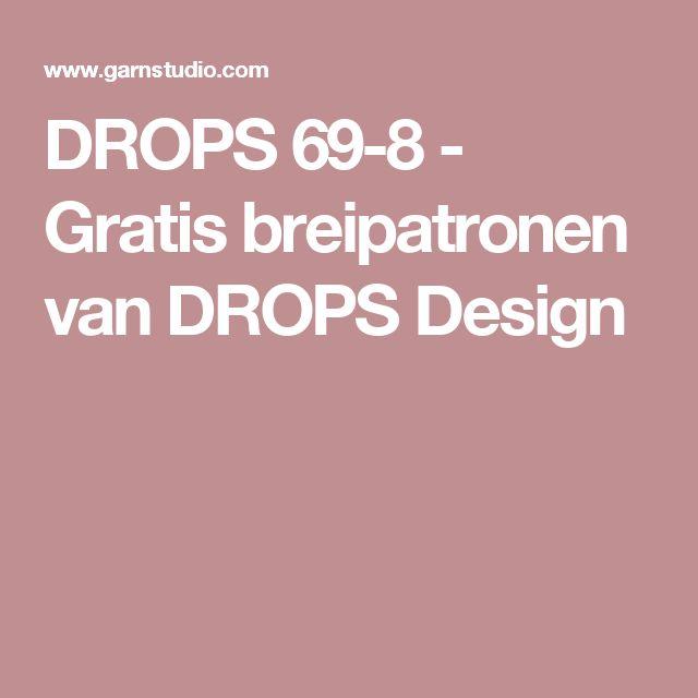 DROPS 69-8 - Gratis breipatronen van DROPS Design