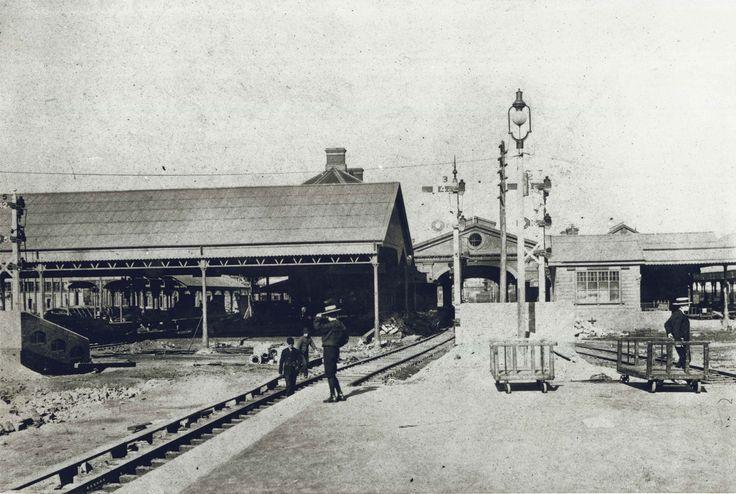 Central station: https://www.google.com.au/search?q=old sydney milestones