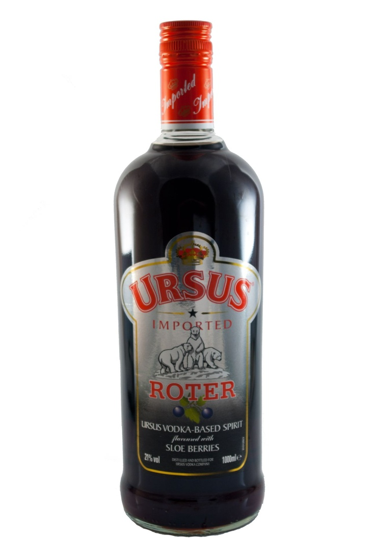 Ursus Roter Wodka / 21% vol (1L)
