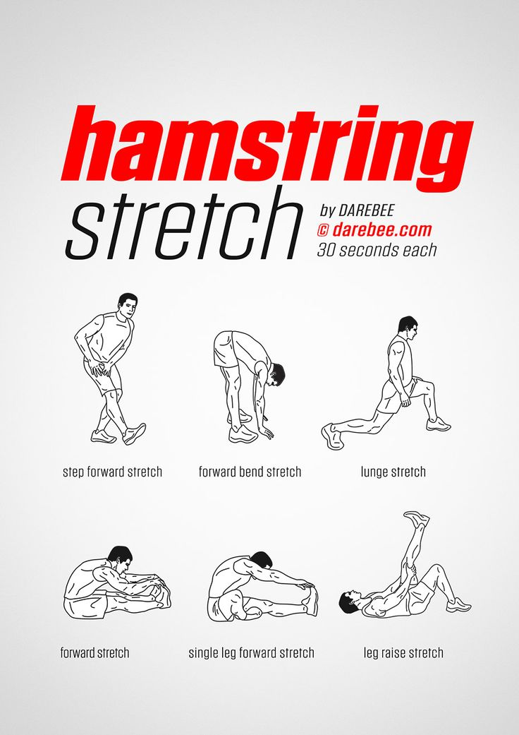 Hamstring Stretch workout.