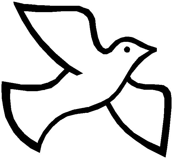 Dove colouring page http://becuo.com/dove-outline-printable