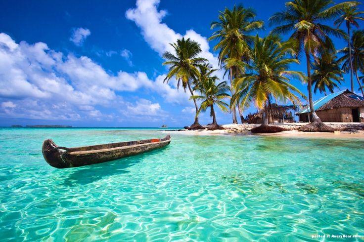 Arquipélago de San Blás, no Caribe panamenho