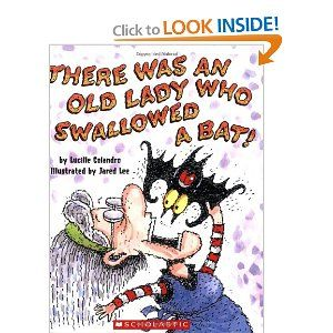 Best 56 childrens literature class ideas on pinterest learning there was an old lady who swallowed a bat by lucille colandro illustrated by jared lee halloweenfind this in the picture book section under e col fandeluxe Gallery