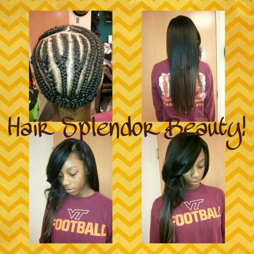 18 20 Weave For Client S Prom By A Hair Splendor Beauty Supply Stylist