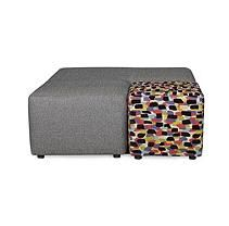 Sofa Smart Josie Cocktail Ottoman with Reovable Cube