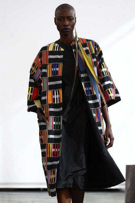 Imane Ayissi, Automne/Hiver 2016, Paris, Haute Couture