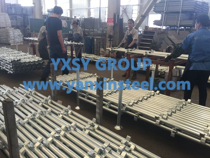Thickness of this kind of Kwikstage Scaffolding includes 4mm, 3.2mm, 3mm