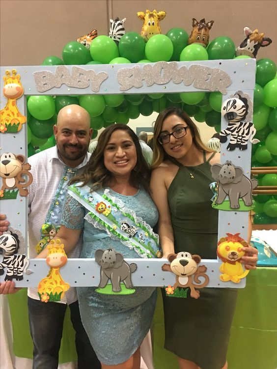 Safari Frame | DIY Baby Shower Party Ideas for Boys