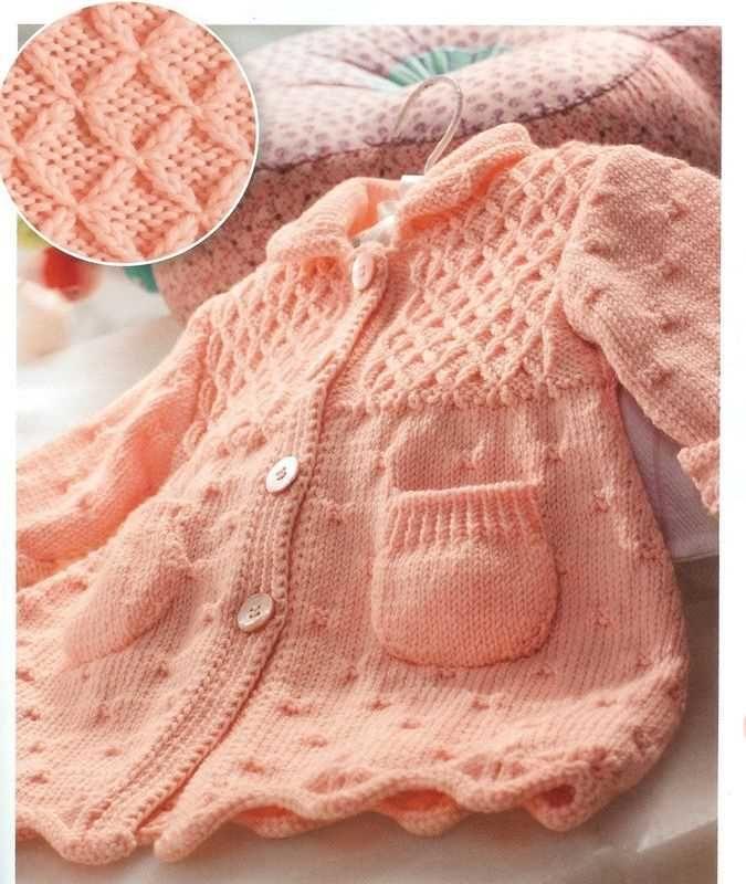 turuncu bebek paltosu örgü