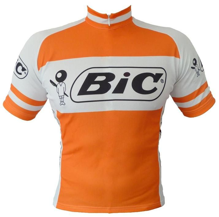 BIC Vintage / Retro Cycling Jersey.