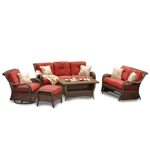 3 Piece Pinehurst Deep Seating Patio Set